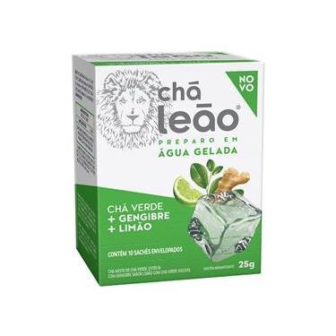 Chá Leão Verde Gengibre e Limão Sachê 25g