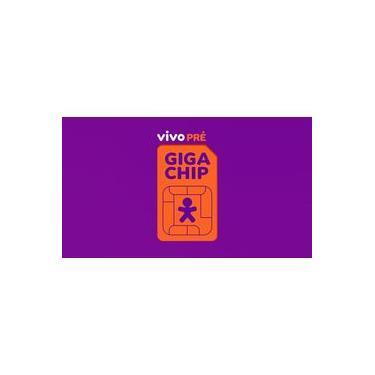 Chip Vivo Giga 4g - Escolha Qualquer Ddd