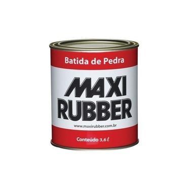 Bate Pedra Emborrachamento Preto 3,6 Litros Maxi Rubber