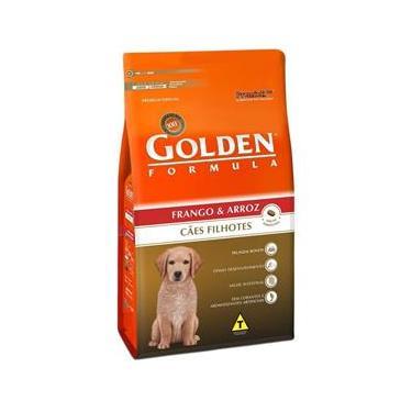 Ração Golden Cães Filhotes Frango E Arroz - 20Kg