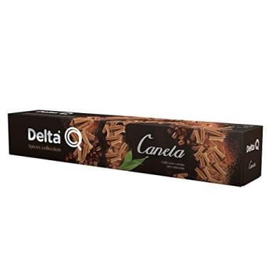 Cápsulas de Café Qanela Delta Q, Compatível com Delta Q, Contém 10 Cápsulas