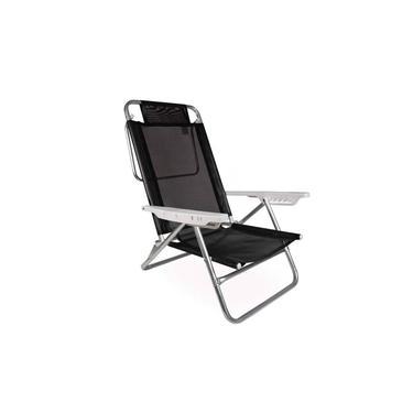 Cadeira Reclinável AlumÍnio Praia Piscina Summer Mor