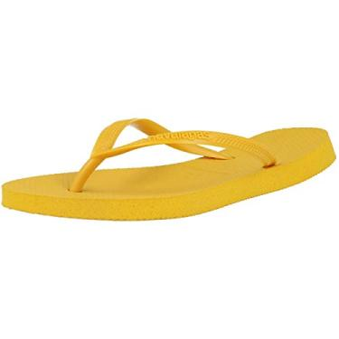 Chinelo Slim, Havaianas, Feminino, Amarelo Banana, 35/36