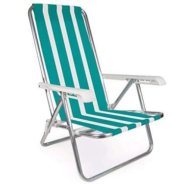 Cadeira Reclinável Alumínio 4 Posição - 002103 - MOR - Cadeira Reclinável Alumínio 4 Posição - 002103 - MOR
