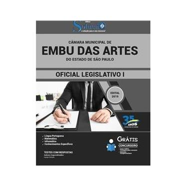 Imagem de Apostila Câmara Municipal De Embu Das Artes São Paulo