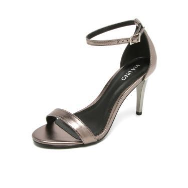30bb289e2 Sandália Salto Prata Dafiti | Moda e Acessórios | Comparar preço de ...