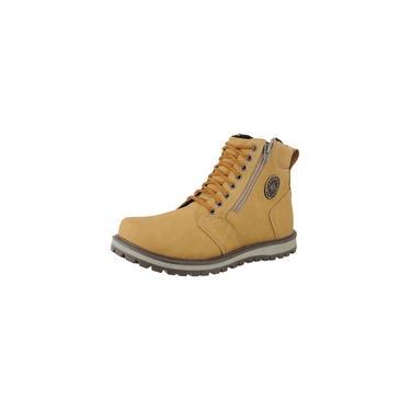 Bota Casual CR Shoes Masculina Mostarda