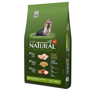 Ração Guabi Natural para Cães Sênior sabor Frango e Arroz - 12kg