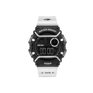 0eb640b1c6e Relógio Masculino Mormaii Acqua Pro MONXA 8P - Branco Preto