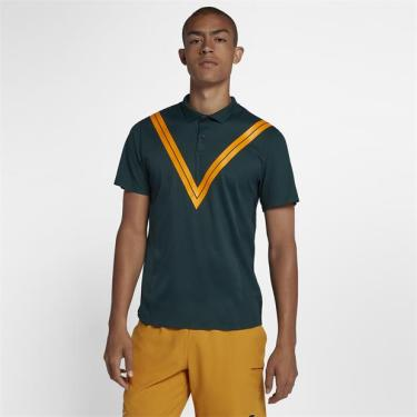 30c092854c Camisa Polo NikeCourt Tech Knit Cool RF Advantage Masculina