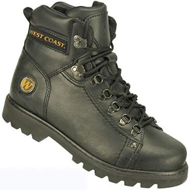 Coturno West Coast Worker Preto Masculino 42