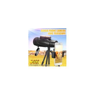 40X60 1500 m/9500 m Alta Definição Baixa Luz Noite Telescópio Monocular à Prova D' Água Caminhadas Ao Ar Livre Telescópio Portátil