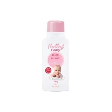Talco Infantil Halley Baby (Rosa) 200 g