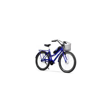 Imagem de Bicicleta Elétrica Retrô Lithium 350W 36V Azul Metálico