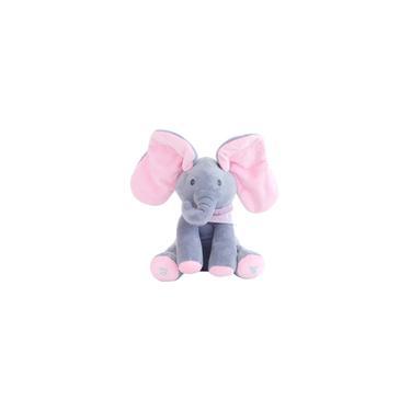 Imagem de Elefante de pelúcia / Elefante musical elétrico