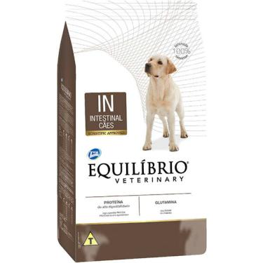 Ração Seca Total Equilíbrio Veterinary IN Problemas de Trato Intestinal para Cães Adultos - 7,5 Kg