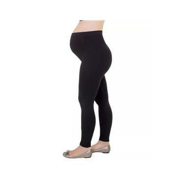 Imagem de Calça Legging Gestante Cintura Alta Roupa Feminina Loba Lupo 41853