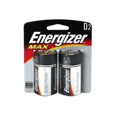 Pilha Grande D Alcalina Sm 2 Pc [ 26930 ] - Energizer