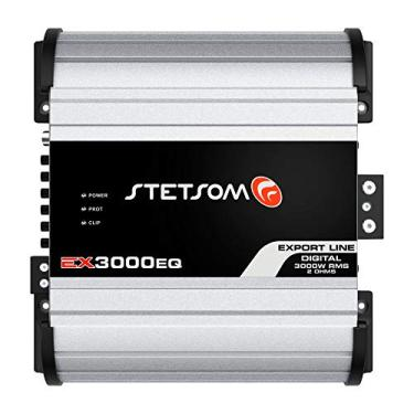 Módulo Amplificador Stetsom Export Line Ex 3000eq 3000w Rms 1 Ohm 1 Canal Rca Digital