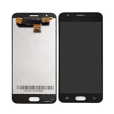 Display LCD Tela Touch Samsung J7 Prime G610 Sm-g610m 5.5 Preto C/Ajuste de Brilho Primeira Linha
