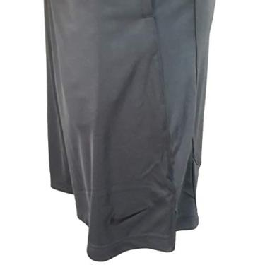 Bermuda Nike Tecido Tecido Mole Tamanho:P;Cor:cinza escuro