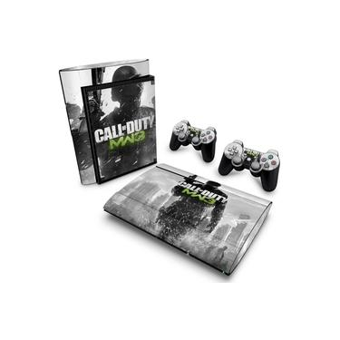 Skin Adesivo para PS3 Super Slim - Call Of Duty Modern Warfare 3