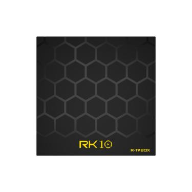 R-TVCaixaRK10RK33282GB RAM 16GB ROM Android 8.1 4K Controle de Voz TV Caixa