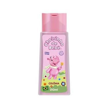Imagem de Colônia Cheirinho de Bebê rosa 210mL