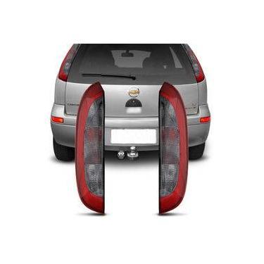 Lanterna Traseira Corsa Hatch 2003 2004 2005 2006 2007 2008 2009 2010 2011 2012 Vermelho Fumê