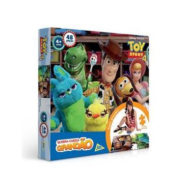 Imagem de Quebra-Cabeça Grandão Toy Story 4 - 48 peças - Jak