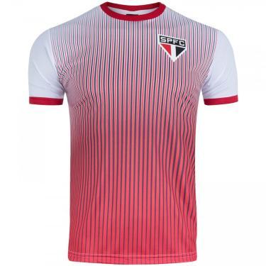 Camiseta do São Paulo Stripes 19 - Masculina Xps Sports Masculino