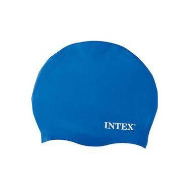Touca De Silicone Azul Natação - Intex f4ef66eee26
