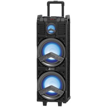 """Caixa de Som Amplificada Lenoxx CA500, 500W 2x8"""", Bluetooth, USB - Bivolt"""