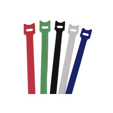 Pacote Com 5 Abracadeira Brasfort Autofixavel Colorida 12mm X 150mm