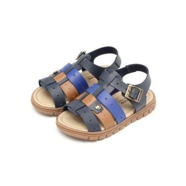 Sandália Ortopasso Clássica Azul Ortopasso 63577 - 4981 menino