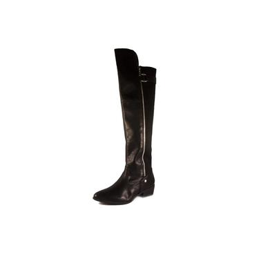 Bota Feminina Via Marte Over Knee Ref: 19-205 Napa Lira