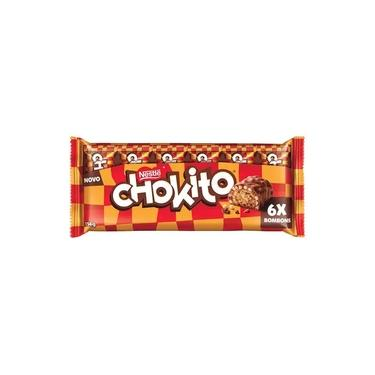 Bombom Nestlé Chokito Pacote com 6 114g