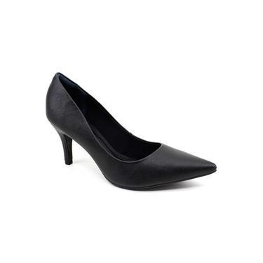 Sapato Scarpin Feminino Bebecê 7060-104 Preto
