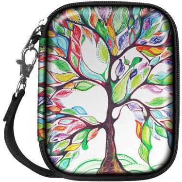 Imagem de Fintie Carregando case para canon ivy impressora fotográfica móvel, Polaroid Mint Instant Print Digital Camera Digital - Hard EVA Shockproof Portable Storage Travel Bag (Love Tree)