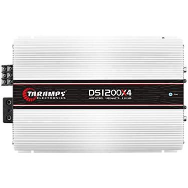 Módulo Taramps DS 1200x4 2 ohms 1200 W RMS 4 Canais Amplificador Som Automotivo