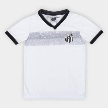 Camiseta Infantil Santos Evoke - Braziline