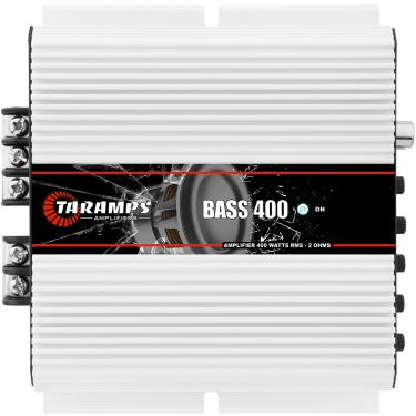 Módulo Taramps Bass 400 400w 1 Canal Amplificador Automotivo