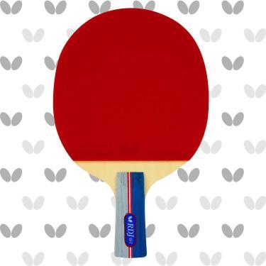 Butterfly RDJ CS2 Ping Pong Paddle – Raquete de tênis de mesa aprovada pela ITTF – Excelente equilíbrio de rotação, velocidade e controle – Pá de tênis de mesa com alça curta