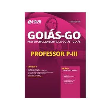 Imagem de Apostila Concurso Goiás Go - Professor P 3