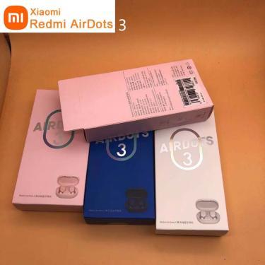 Imagem de Xiaomi-fones de ouvido sem fio redmi tws airdots 3, bluetooth 5.2, redução de ruído, com microfone