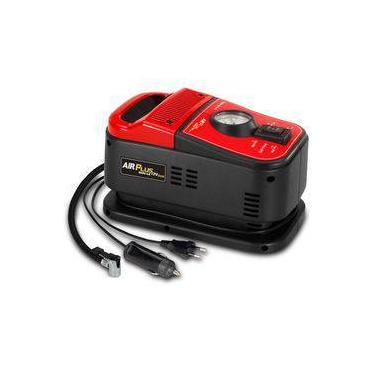 Imagem de Compressor de ar com Indicador de Pressão, Fusível, Chave liga/desliga - 12V/127V Duo Plus - Schulz