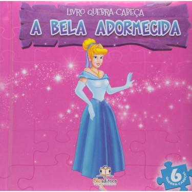 A Bela Adormecida - Col. Livro Quebra-Cabeça - Editora, Blu - 9788581021553