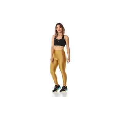 Calça Legging Mizuno Classic Fit Feminina - Dourado