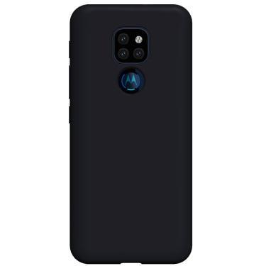 Capa Protetora De Silicone Y-Cover Liquid Preto Motorola Moto G9 Play