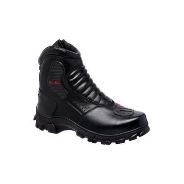 Bota Masculina Linha Motoqueiro de Couro Bell Boots